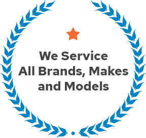We Service All Brands Makes and Models